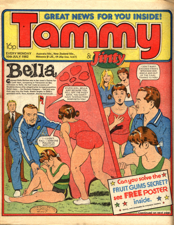 Tammy and Jinty cover 10 July 1982