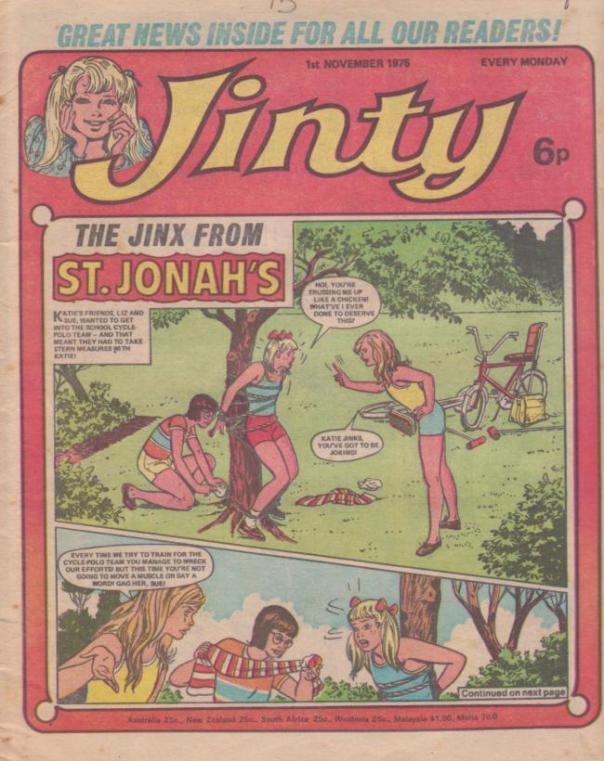 Jinty cover 1 November 1975